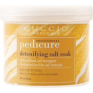 Cuccio Naturale Pedicure Milk & Honey Detoxifying Salt Soak 29oz