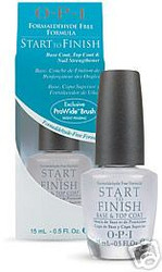OPI Start to Finish - Base Coat, Top Coat & Strengthener