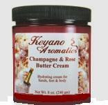 Keyano Aromatics Champagne & Rose Butter Cream  8 oz.