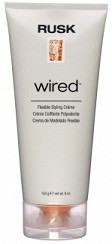 Rusk Designer Wired Styling Cream 6 oz