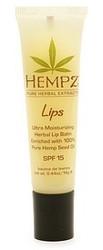 Supre Hempz Lips Herbal Lip Balm 1/2 oz - SPF 15