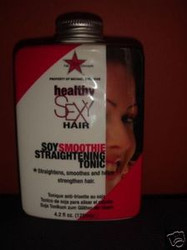 Sexy Hair Concepts: Healthy Soy Smoothie Straightening Tonic 4.2 oz