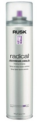 Rusk Designer Radical Extreme Hold Hairspray 10 oz