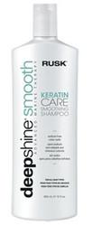 Rusk Deepshine Smooth Keratin Care Shampoo 12oz