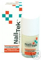 Nail Tek Foundation I - for Strong Healthy Nails 1/2 oz