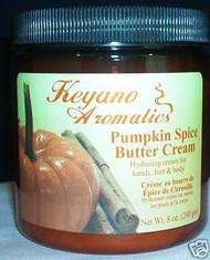 Keyano Aromatics Pumpkin Spice Butter Cream  8 oz
