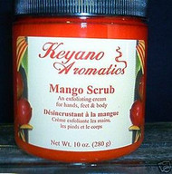 Keyano Aromatics Mango Exfoliating Body Scrub 10 oz.