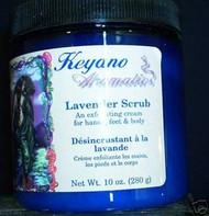 Keyano Aromatics Lavender Exfoliating Body Scrub 10 oz.