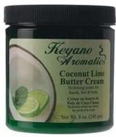 Keyano Aromatics Coconut Lime Butter Cream  8 oz.