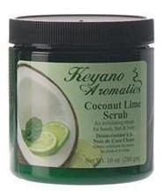 Keyano Aromatics Coconut Lime Body Scrub 10 oz.