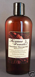 Keyano Aromatics Chocolate Massage Oil 8 oz.