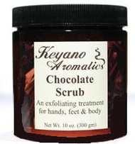 Keyano Aromatics Chocolate Exfoliating Body Scrub 10 oz