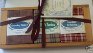 Sun Feather Soap for Men Gift Crate - 3 Soaps-2 oz each