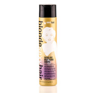 Sexy Hair Sulfate-Free Bright Blonde Violet Shampoo 10.1oz