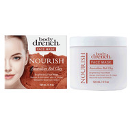 Body Drench Nourish Australian Red Clay Brightening Mask  4oz.
