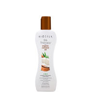Farouk Biosilk Silk Therapy with Coconut Oil 3-in-1 Shampoo, Conditioner & Body Wash 5.64oz