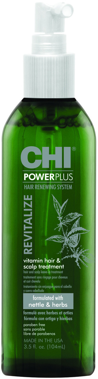 CHI Power Plus Revitalize Vitamin Hair & Scalp Treatment 3 5oz