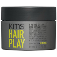 KMS HAIRPLAY Hybrid Claywax 1.7oz