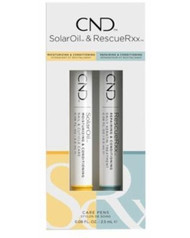 CND Essentials Care Pens DUO RESCUERXX & SOLAR OIL Treatment