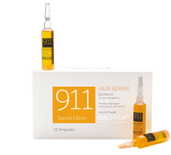 Biotop Professional 911 Quinoa Hair Repair Oil-to-Foam Ampoules 10 x 0.37 Fl. oz.