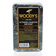 Woody's Activated Charcoal Bar Soap 8 oz