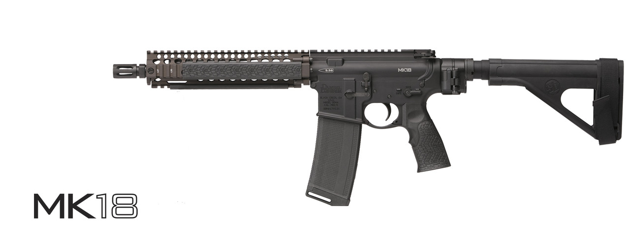 DANIEL DEFENSE MK18 PISTOL (LAW TACTICAL)