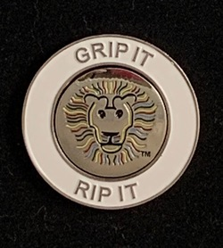 John Daly Lion Magnetic Ball Marker