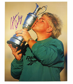 Autographed 8 X 10 1995 British Open Photo
