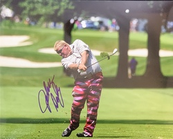 Autographed 8 X 10 Picture *Wedge Shot*