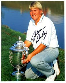 Autographed 8 X 10 Picture 1991 *PGA Kneeling*