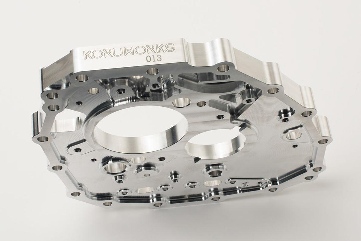 KoruWorks Nissan GTR transmission Mid Plate
