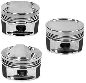Manley 03-07 Nissan 350Z/ Maxima 81.4mm Stroker 96.5mm +1.0 Bore 11.0:1 Dome Piston Set w/Rings