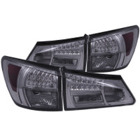 ANZO 2006-2008 Lexus Is250 LED Taillights Smoke