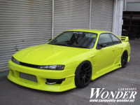 Car Modify Wonder S14 Glare Kouki Body Kit