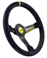 Sabelt  Steering Wheel Half Dished - Suede - 350mm