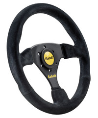 Sabelt Steering Wheel No Dish - Suede - 330mm