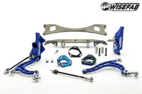 wisefab NISSAN S-CHASSIS LOCK KIT WITH RACK RELOCATION KIT FOR S14/15 HUBS *Free Shipping*