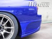 Car Modify Wounder Glare Rear Bumper Options