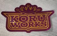 KoruWorks Players Ball Sticker