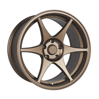 Stage Wheels Knight 17x9 +10mm 5x114.3 CB: 73.1 Color: Matte Bronze