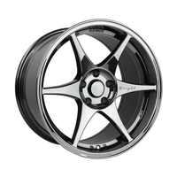 Stage Wheels Knight 17x9 +35mm 5x114.3 CB: 73.1 Color: Black Chrome