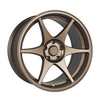 Stage Wheels Knight 18x9.5 +12mm 5x114.3 CB: 73.1 Color: Matte Bronze