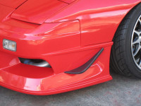 Car Modify Wonder Canard Type 1B available in FRP and Carbon Fiber