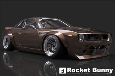 GReddy 95-98 Nissan 240SX S14 Rocket Bunny V2 Boss Aero Kit
