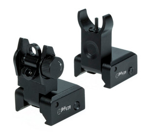 Low Profile AR Flip Up Sights - SM9411