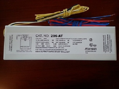Allanson 296-AT 120v High Output Fluorescent Sign Ballast