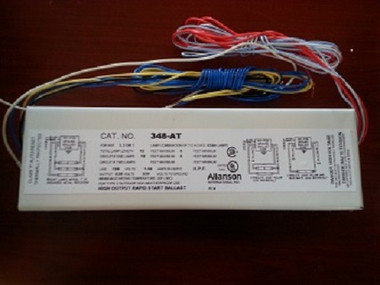 Allanson 348-AT 120v High Output Fluorescent Sign Ballast