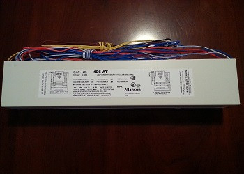Allanson 496-AT 120v High Output Fluorescent Sign Ballast
