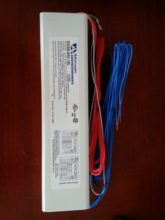 Allanson 648-AT 120v High Output Fluorescent Sign Ballast on