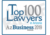 "The 2019 Top 100 Lawyers in Arizona digital emblem is the perfect component to your email signature line, LinkedIn profile and/or your company website.  Emblem comes as seen without the word ""proof"".  If you would like your name and/or company on the emblem, please state that in the general instructions/comment box at check-out.  Or if you prefer, contact Sara Fregapane @ (602)424-8838."